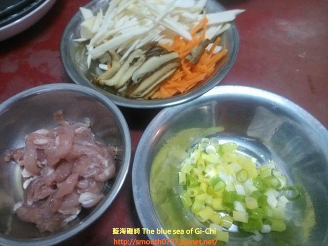 香菇竹筍瘦肉粥