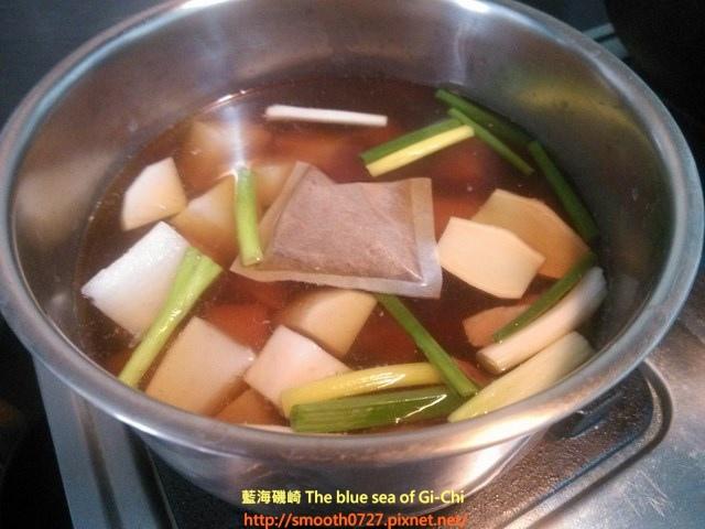 白蘿蔔香滷牛腱