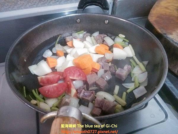 番茄咖哩牛肉