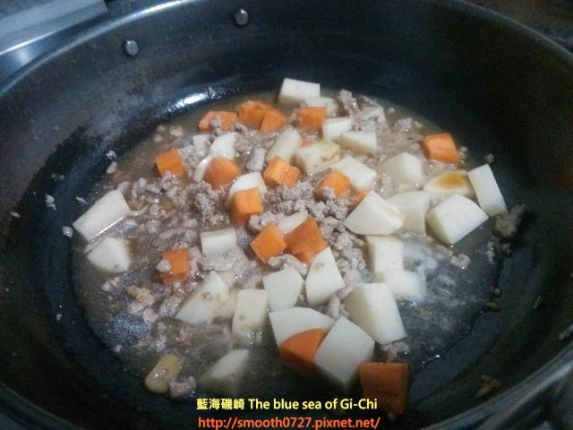 肉末燒馬鈴薯