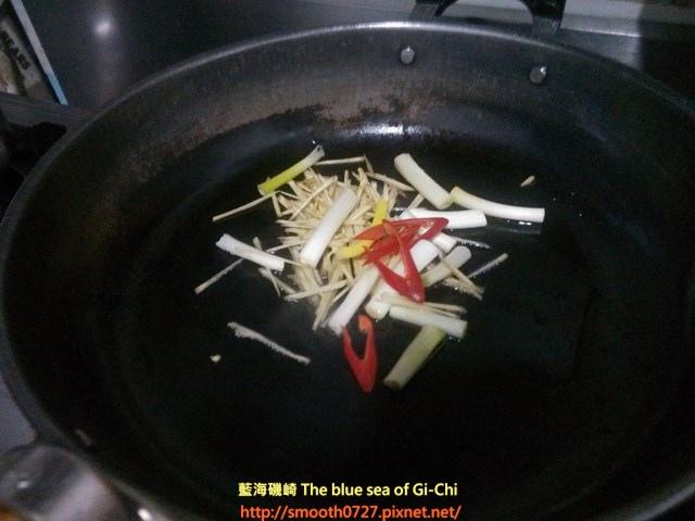 薑絲炒龍腸(曼波魚腸)