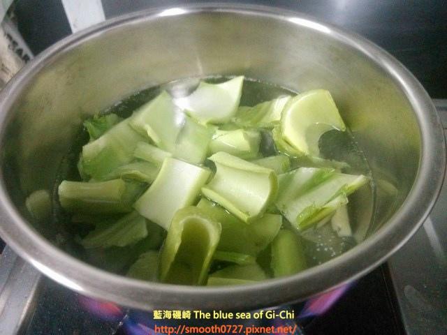 芥菜排骨酥湯