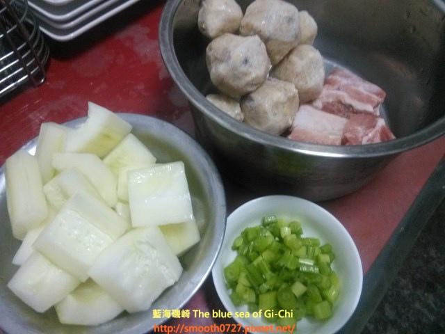 大黃瓜魚丸湯