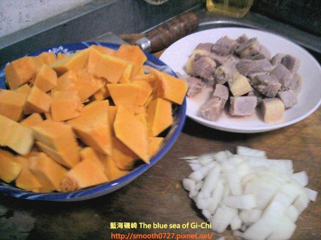 歐式田園風味~南瓜燉牛肉