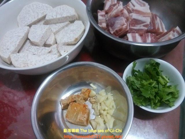 芋香腐乳蒸肉