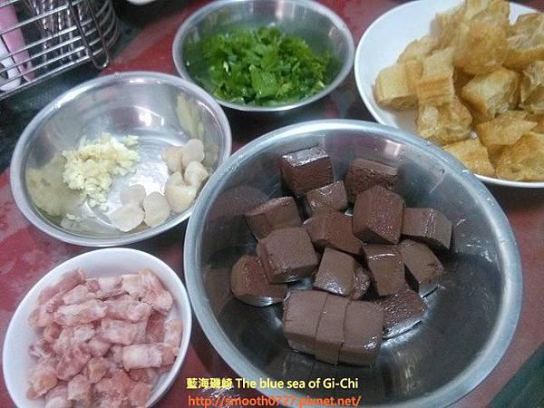 港式豬紅粥
