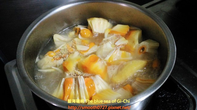 東海岸傳統美味-麵包果(芭基魯)湯