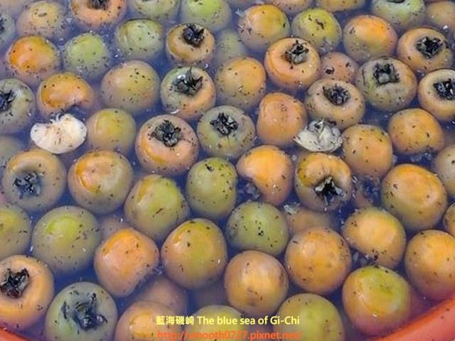 泡青柿子的方法