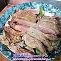 塔香磨菇牛排