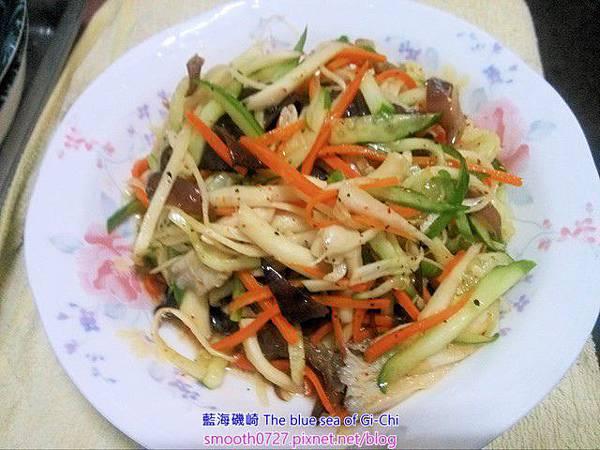 日式和風鮮菇涼拌