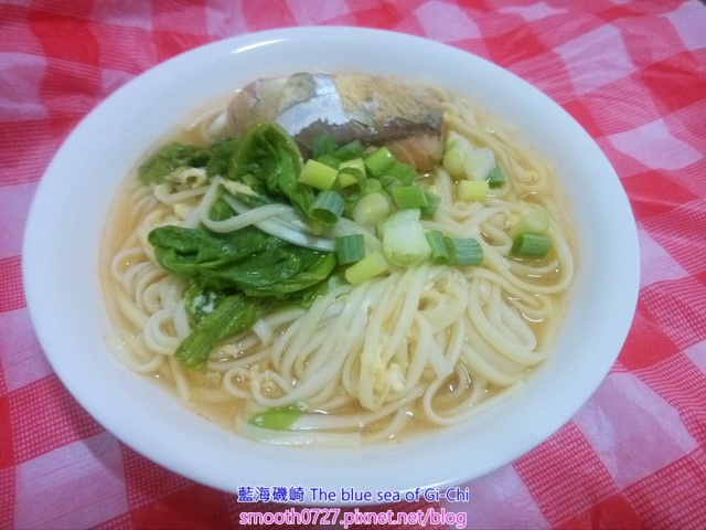 茄汁鯖魚麵