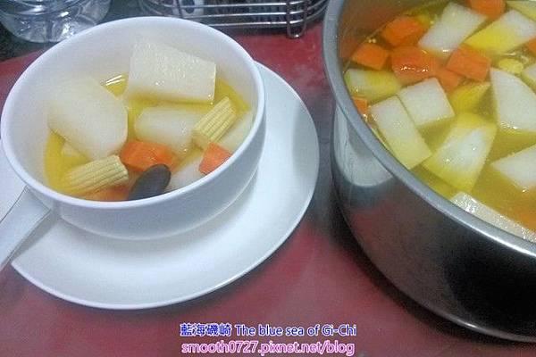 古早味家常疏菜湯