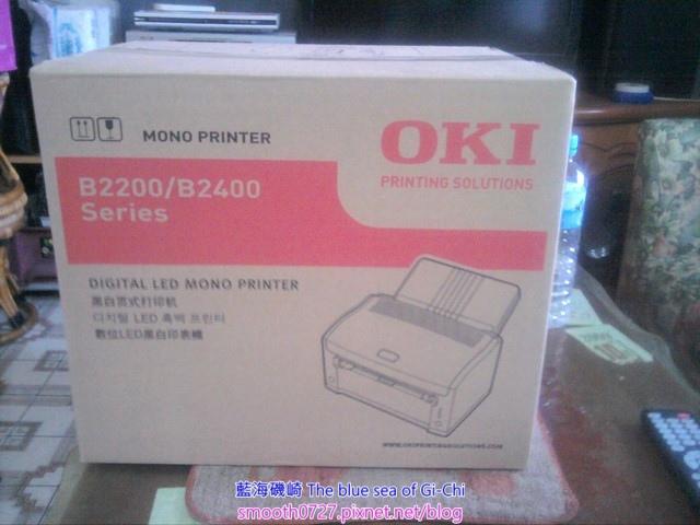 [開箱]OKI B2200 LED 黑白印表機