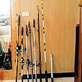 我的各式海釣魚竿