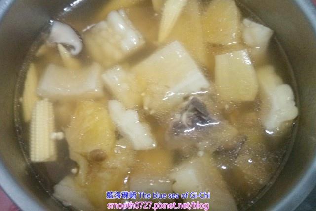 鳳梨苦瓜排骨湯