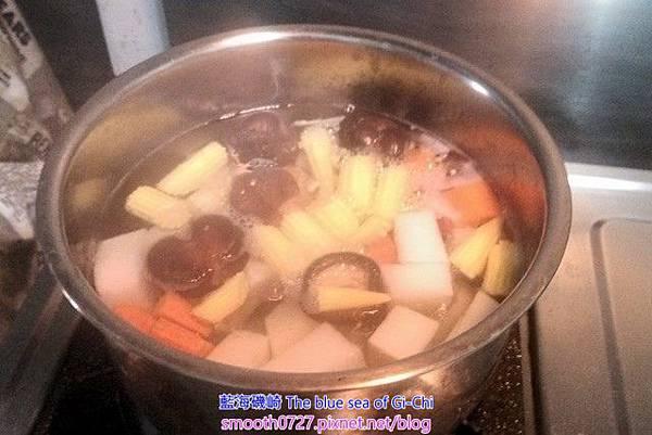 [純素]元氣蔬菜湯