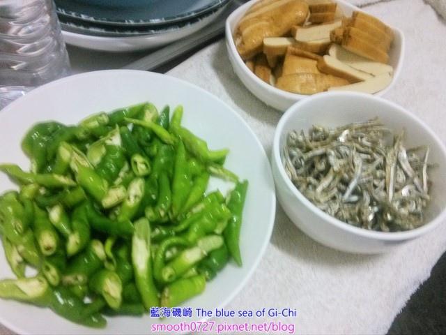 丁香豆乾炒青辣椒