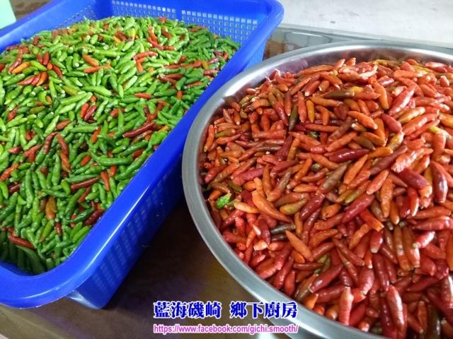 藍海磯崎 鄉下廚房-醃漬 原生雞心辣椒