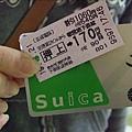 西瓜卡與我們要撘的車票