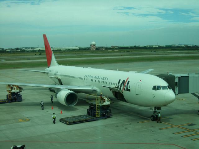 這次搭乘下啪的JAL