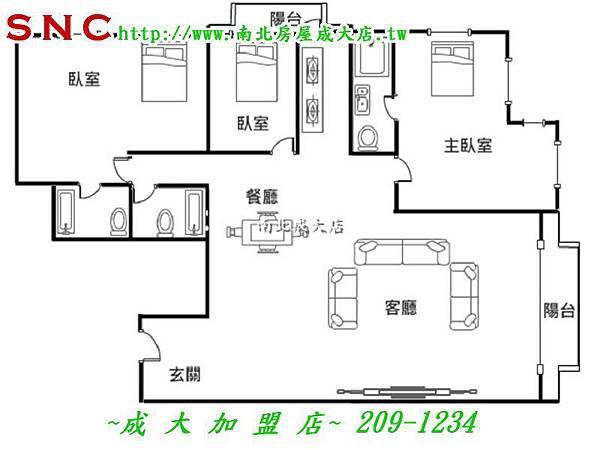 東26-東方巨人景觀豪宅-長榮路一段181號23F1(徐維.湘玲)