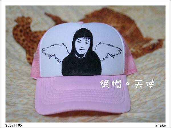 網帽01。天使