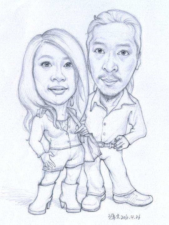 設計部的總監 阿智和他女友丹丹