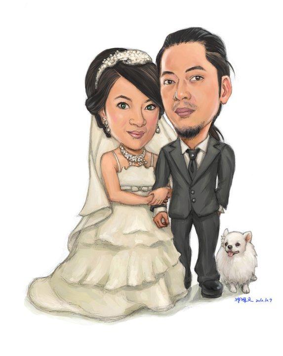 阿文主管阿智和丹丹婚紗