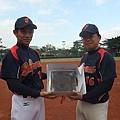 隊長志豪與副隊長阿吉