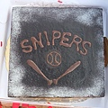 Snipers球隊慶生蛋糕!