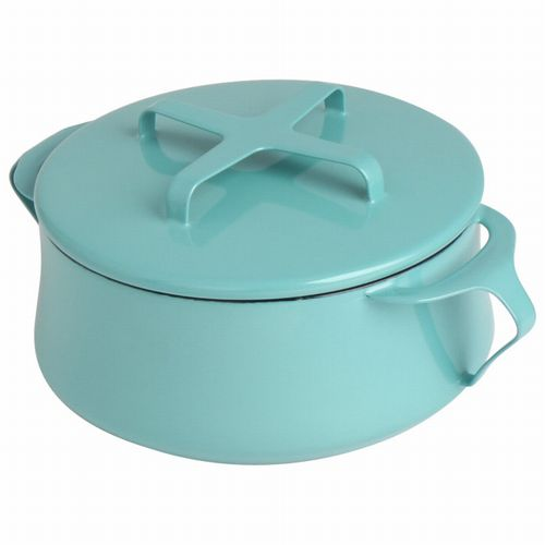DANSK 18cm 雙握把 琺瑯鍋 鍋蓋當鍋墊