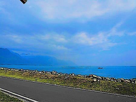 濱海公路岩石