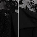 蕾絲鏤空蝶結針織衫