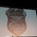 海港城警察局的警徽