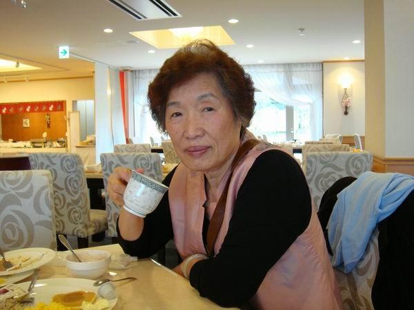 媽咪很開心的樣子