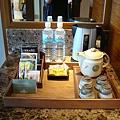 房間內飲料茶飲區