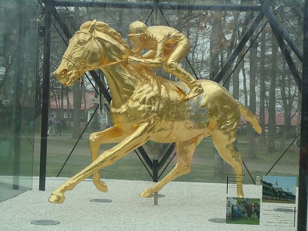 金馬雕像‧北方馬之國公園‧苫小牧