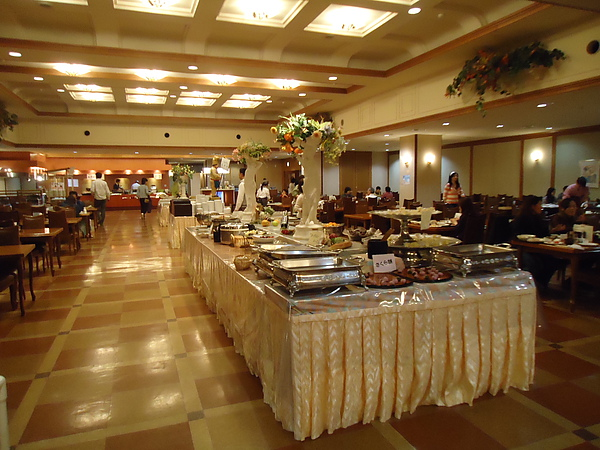 自助式晚餐‧旅館《湯之川平成館海羊亭》‧函館