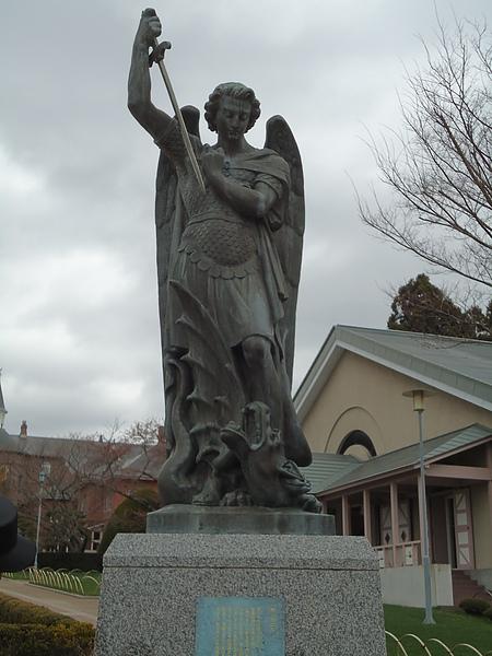 天使長雕像‧百年女子修道院‧函館