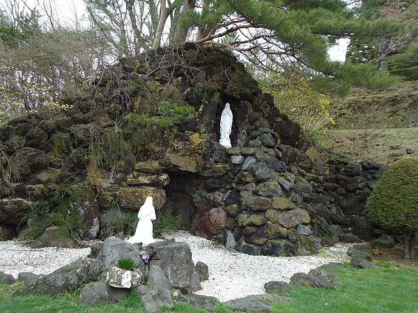 聖母瑪莉亞雕像‧百年女子修道院‧函館