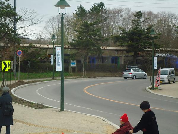 北斗號進站停靠‧大沼公園車站