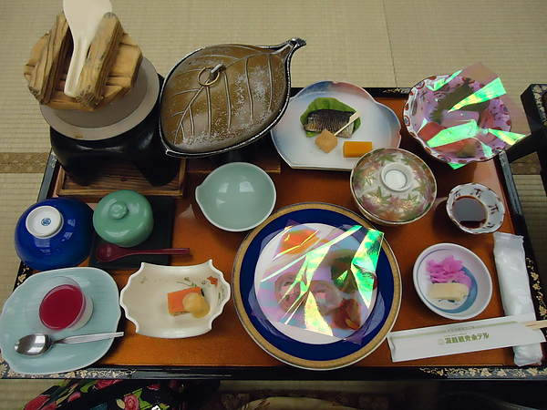 懷石料理晚餐‧洞爺觀光溫泉旅館‧洞爺湖