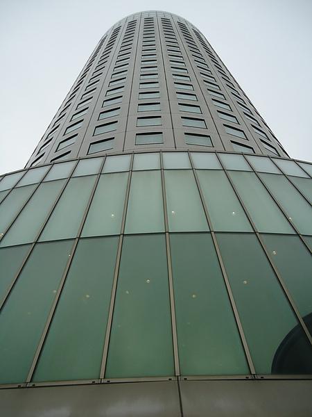 高聳的外觀‧王子飯店‧札幌