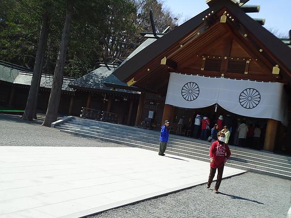 參拜處‧北海道神宮‧札幌