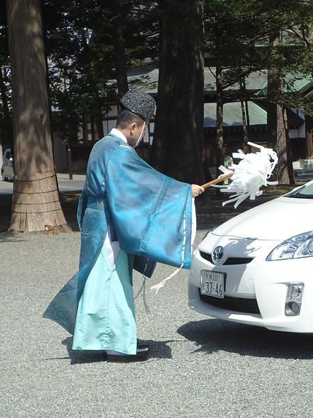 神職人員的祝禱儀式‧北海道神宮‧札幌
