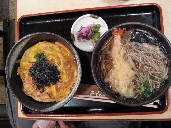 難波商店街午餐