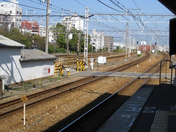 JR東定川站