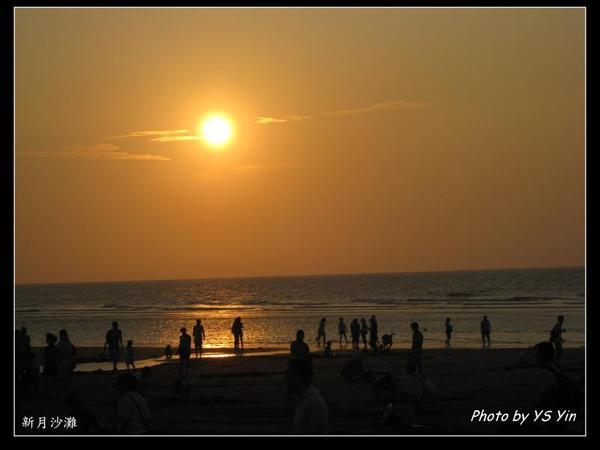 新月沙灘-夕照