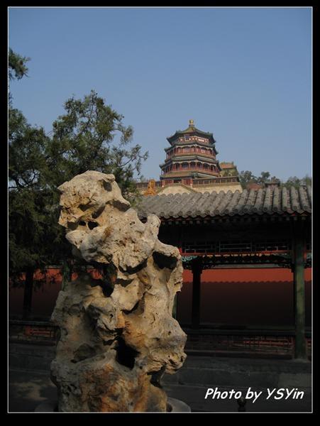 頤和園-佛香閣外牆