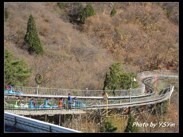 八達嶺長城-滑車